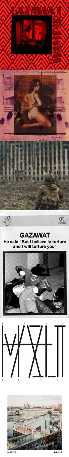 Gazawat/Mazut History Written In Chechen Blood / But I Believe In Torture. And I Will Torture You / Rape Culture / Wampir / Eichwald