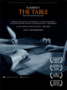 Karbido The Table DVD